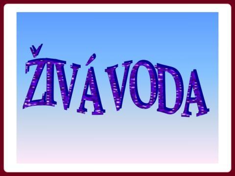 ziva_voda