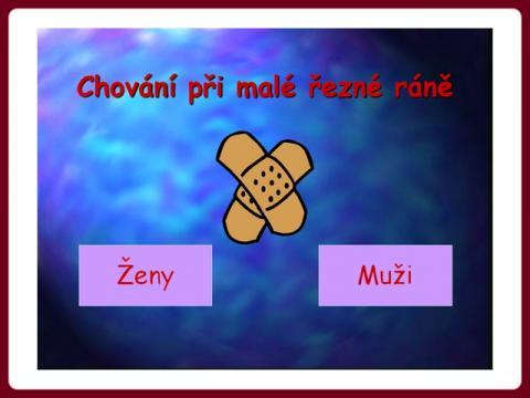 chovani_pri_rane