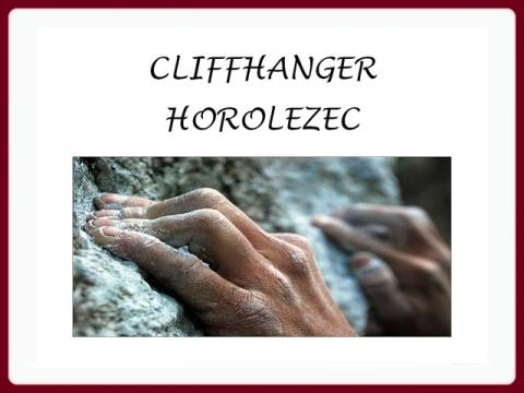 cliffhanger_horolezec