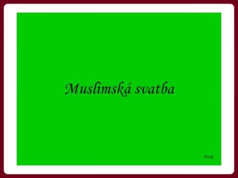 svatba_muslimska