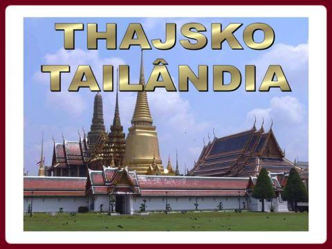 thajsko_-_tailandia